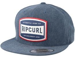 Authentic Blue Indigo Snapback - Rip Curl