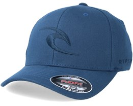 Tepan Curved Peak Blue Adjustable - Rip Curl
