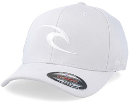 Tepan Curved Peak Light Grey Adjustable - Rip Curl