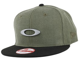 O-Justable Metal Worn Olive 9Fifty Snapback - Oakley