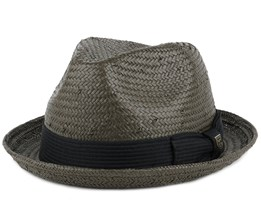 Castor Washed Black Fedora - Brixton