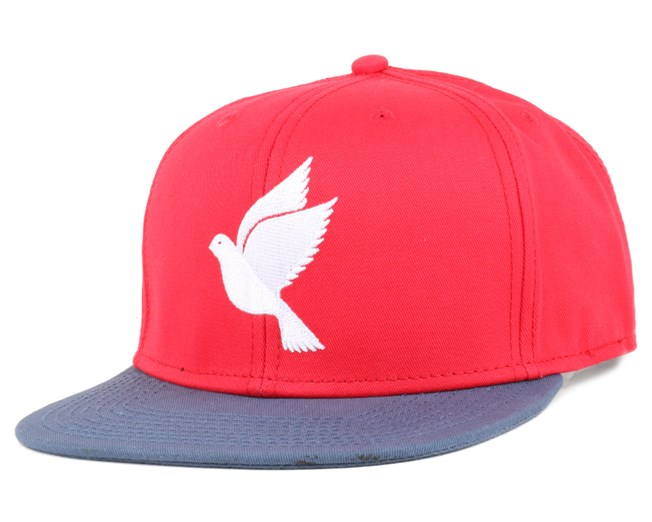 Save Us Combo Red/Navy Snapback - Galagowear