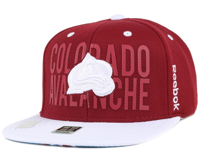 Colorado Avalanche High D Snapback - Reebok