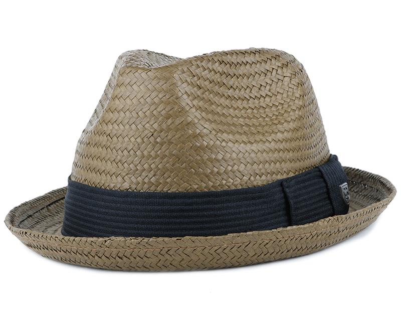 Castor Light Brown Fedora - Brixton - chapeau   Hatstore.fr 1d62f886805