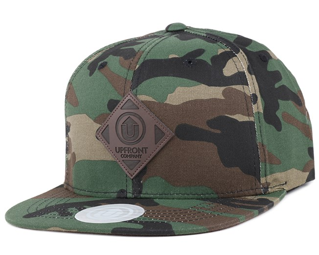 Offspring Camo/Brown Snapback - Upfront