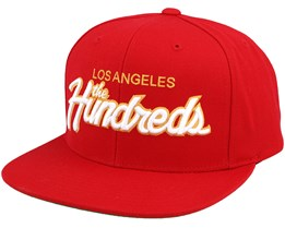Team Two Red Snapback  - The Hundreds