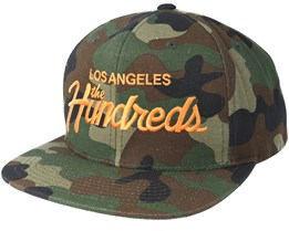 Team Fa17 Camo Snapback - The Hundreds
