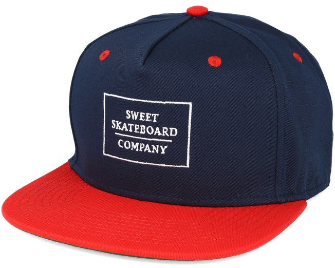 Company Navy/Red Snapback - Sweet