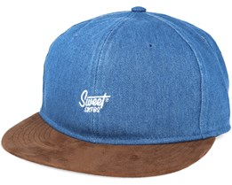 Script Lt Blue Wash/Brown Unconstructed - Sweet