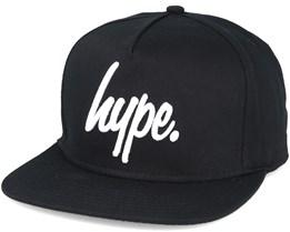 Script Black/white Snapback - Hype