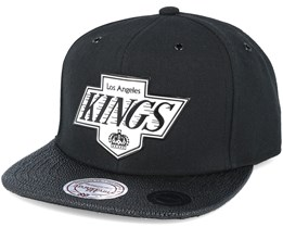 Los Angeles kings Ultimate Black Snapback - Mitchell & Ness