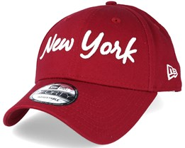 NY Yankees 9forty Script Red - New Era