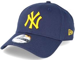 New York Yankees Seasonal Contrast Navy Adjustable - New Era ec1be909135a