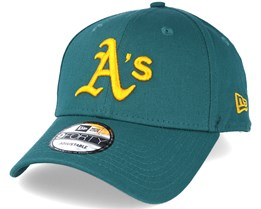 Oakland Athletics Seasonal Contrast Green Adjustable - New Era