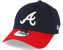 Atlanta Braves MLB League Essential Navy 39thirty Flexfit - New Era