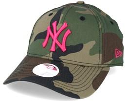 New York Yankees MLB Fashion Camo 9forty Adjustable - New Era