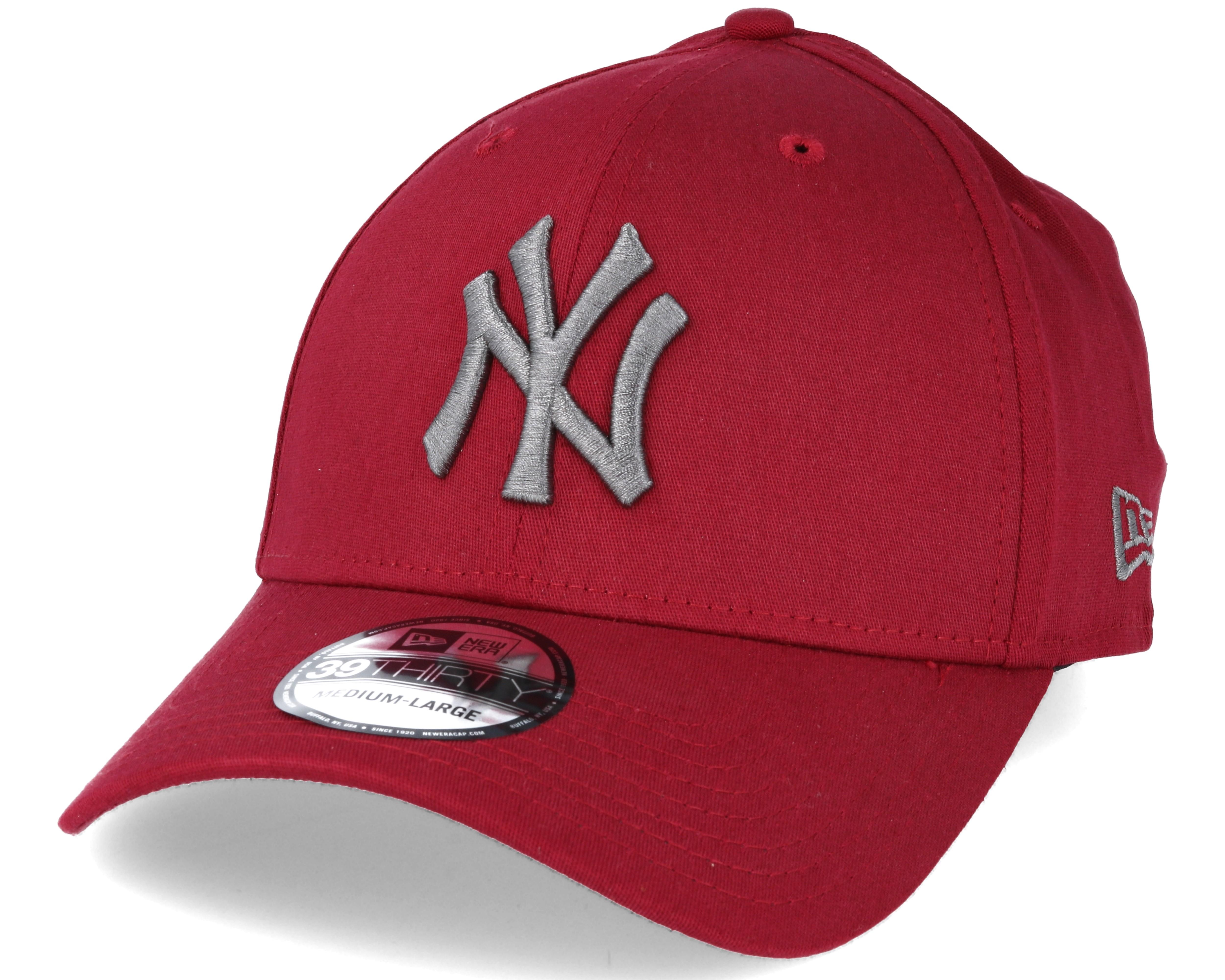 New York Yankees MLB League Essential Red 39thirty Flexfit - New Era ... d34c5ff49b4
