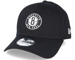 Brooklyn Nets NBA Black 39thirty Flexfit - New Era