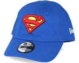 Kids Hero Essential Inf Superman Blue 9forty Adjustable - New Era