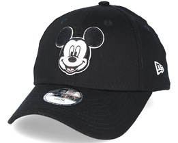 Hero Essential Mickey Mouse Black 9forty Adjustable - New Era