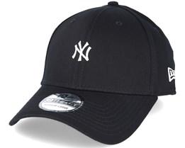 New York Yankees Mini Logo Essential Black 39thirty Flexfit - New Era