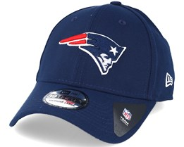 New England Patriots NFL Team Essential Stretch Blue 39thirty Flexfit - New Era