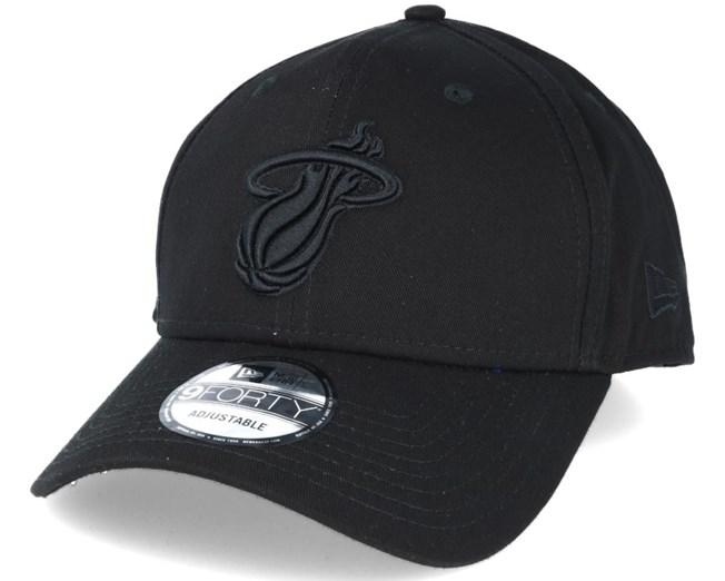 0405da3be163 Miami Heat NBA Bob Black 9forty Adjustable - New Era keps - Hatstore.se