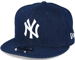 New York Yankees Denim Essential Jeans Navy 9fifty Snapback - New Era