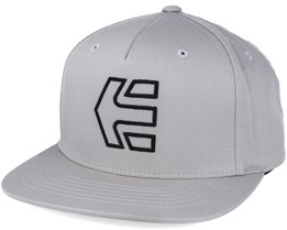 Icon 7 Light Grey Snapback - Etnies