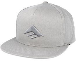 Triangle Grey Snapback - Emerica