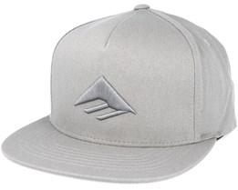 Triangle Grey Snapback - Emerica