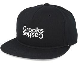 Oposite Snapback BlackSnapback - Crooks & Castles
