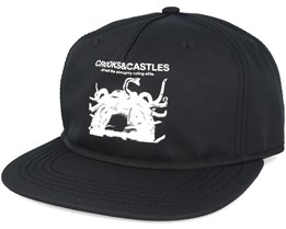 Censored Snapback Black Snapback - Crooks & Castles