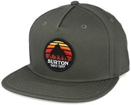 Underhill Oil Green Snapback - Burton