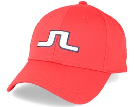 Angus Tech Stretch Red Intense Adjustable - J.Lindeberg