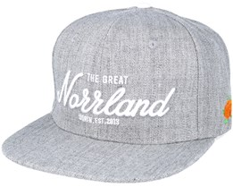 Great Norrland Grey Snapback - Sqrtn
