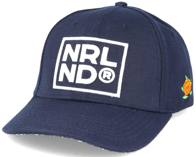 NRLND Hooked Navy Snapback - Sqrtn