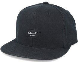Pitchout 6-panel Black Snapback - Reell