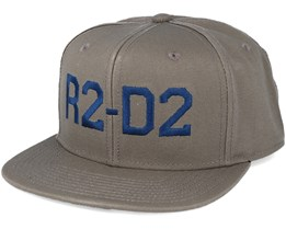 R2-D2 Grey Snapback - Dedicated