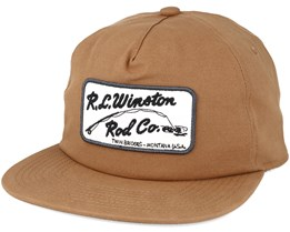 The Winton Se. Lt Brown Snapback - Coal