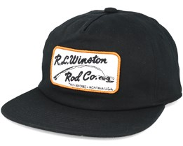 The Winton Se. Lt Black Snapback - Coal