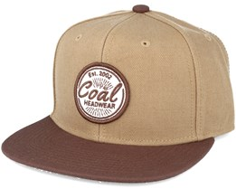 The Classic- Brown Snapback - Coal
