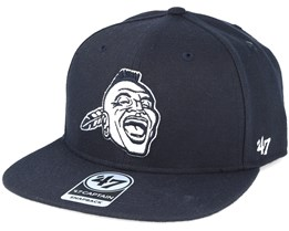 Atlanta Braves Sure Shot Navy Snapback - 47 Brand