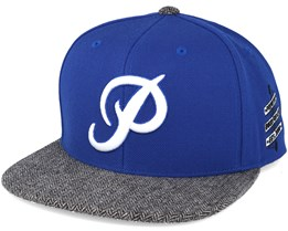 Classic P  Royal Blue Snapback- Primitive Apparel