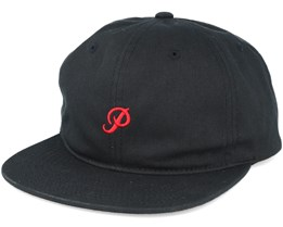 Mini Classic P 6 Panel Black Adjustable - Primitive Apparel