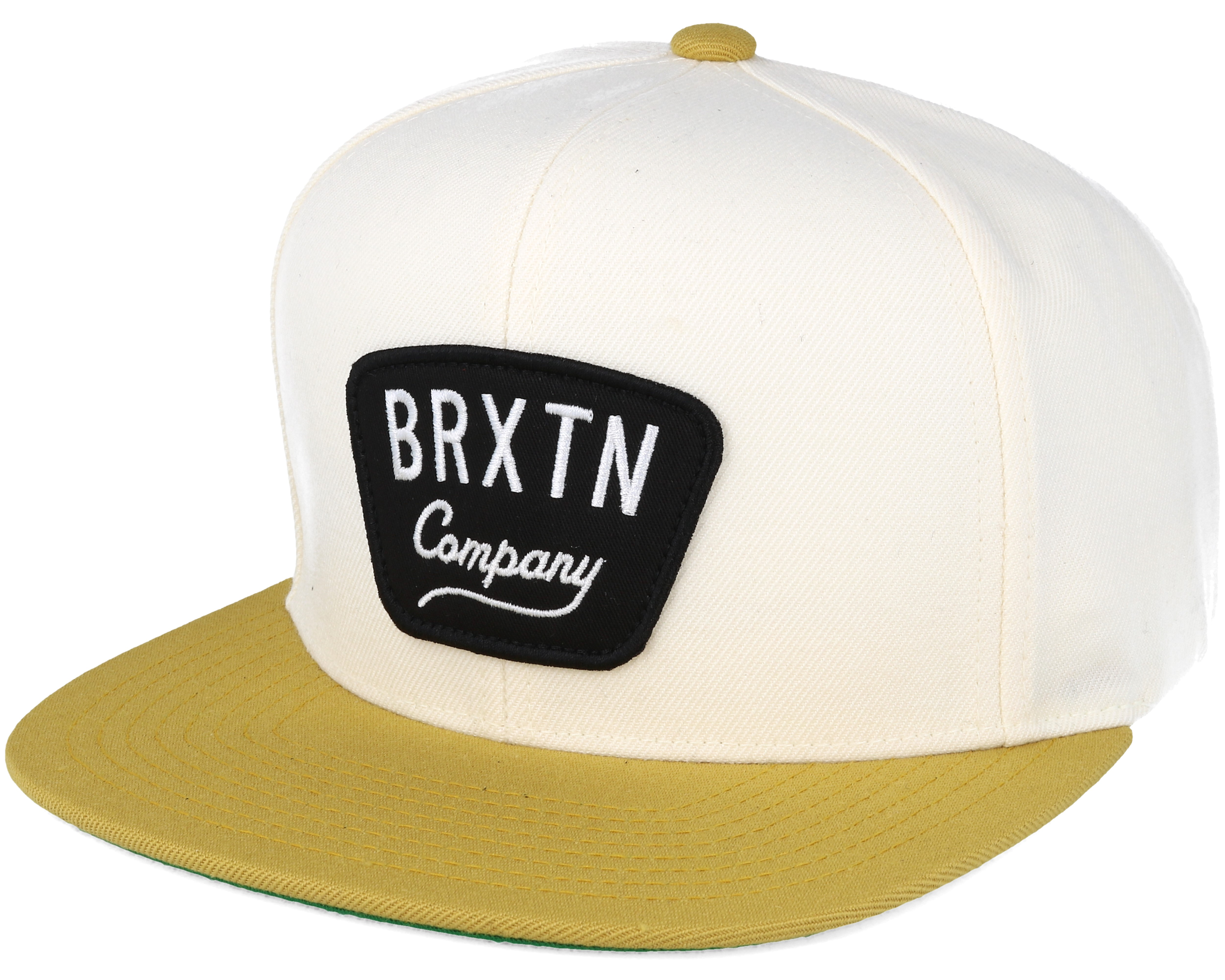edacdf26aec ... clearance gaston off white gold snapback brixton 03b79 8339f ...