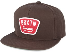 Gaston Brown Snapback - Brixton