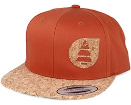 Narrow  C Camel Snapback - Picture