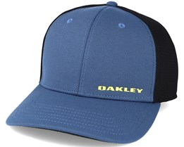 Silicon Bark Trucker Navy Flexfit - Oakley