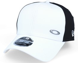 Tinfoil White/Black Flexfit - Oakley